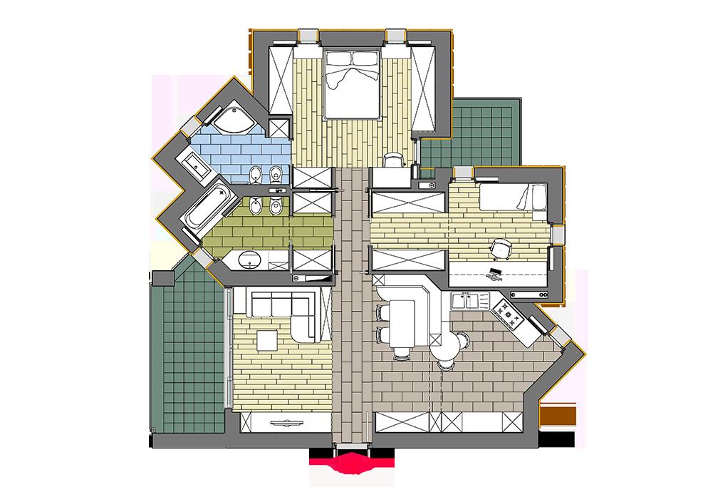 Ergonomia appartamento