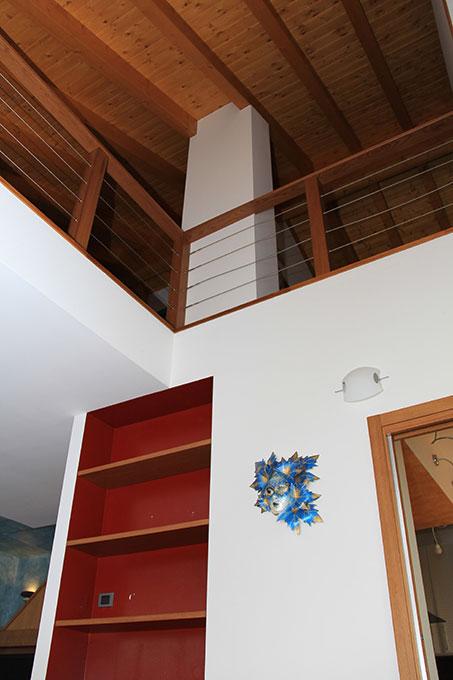 Appartamento con mansarda - Lo spazio a tutta altezza