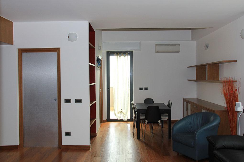 Appartamento con mansarda - Vista dall'ingresso