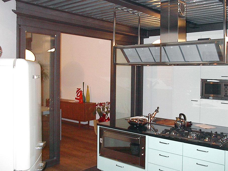 Loft - Cucina a isola