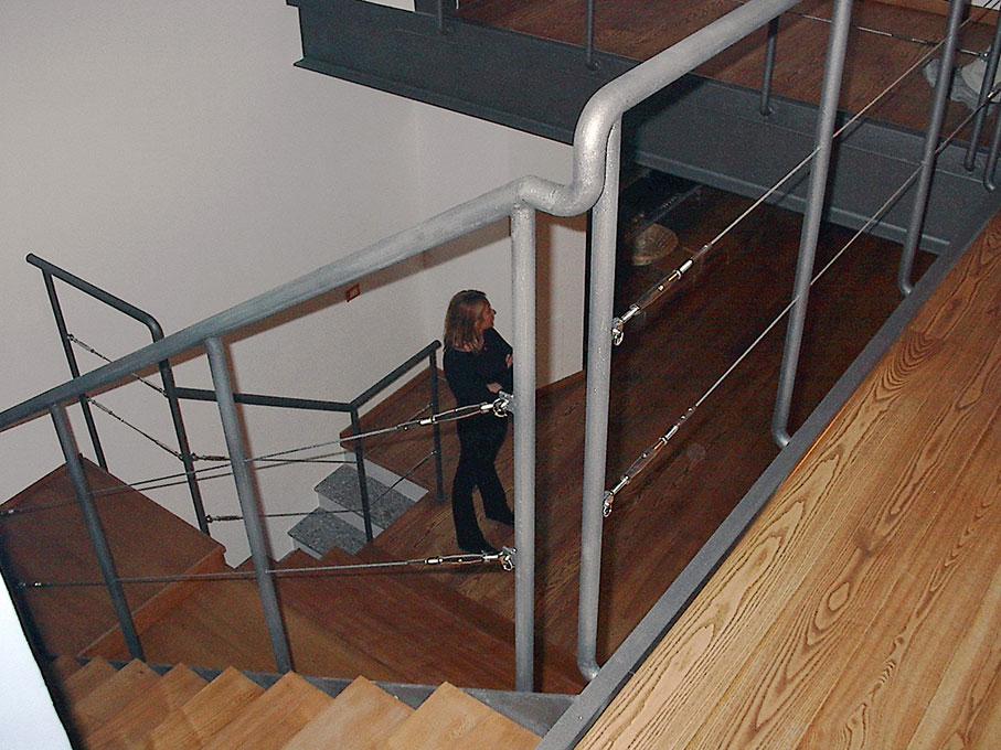 Loft - Sbarco della scala sulla passerella