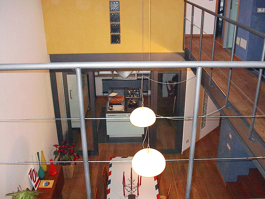 Loft - Vista dalla camera da letto principale