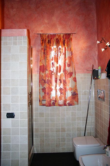 Loft con sopralzo - Bagno con doccia in muratura