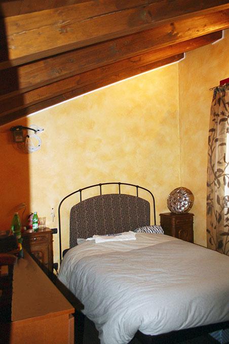 Loft con sopralzo - Camera da letto singola in mansarda