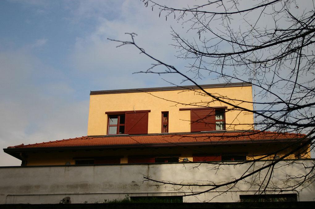 Loft con sopralzo - Prospetto loft principale