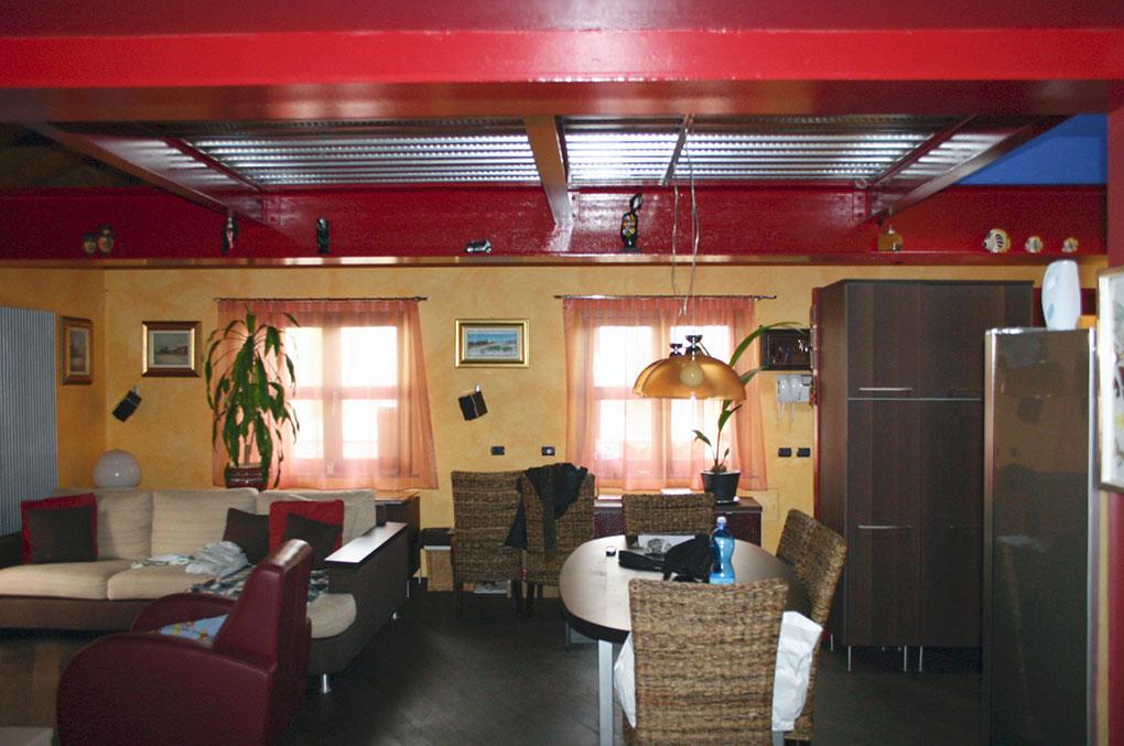 Loft con sopralzo - Zona giorno a doppia esposizione