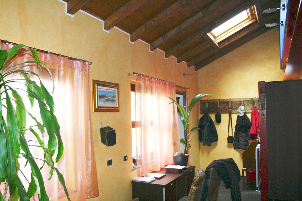 Loft con sopralzo - Zona giorno open space