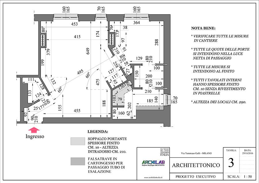 Ristrutturazione Progetto Architettonico