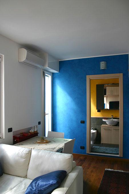 Terrazzo con appartamento - Via Montegani Ingresso al bagno