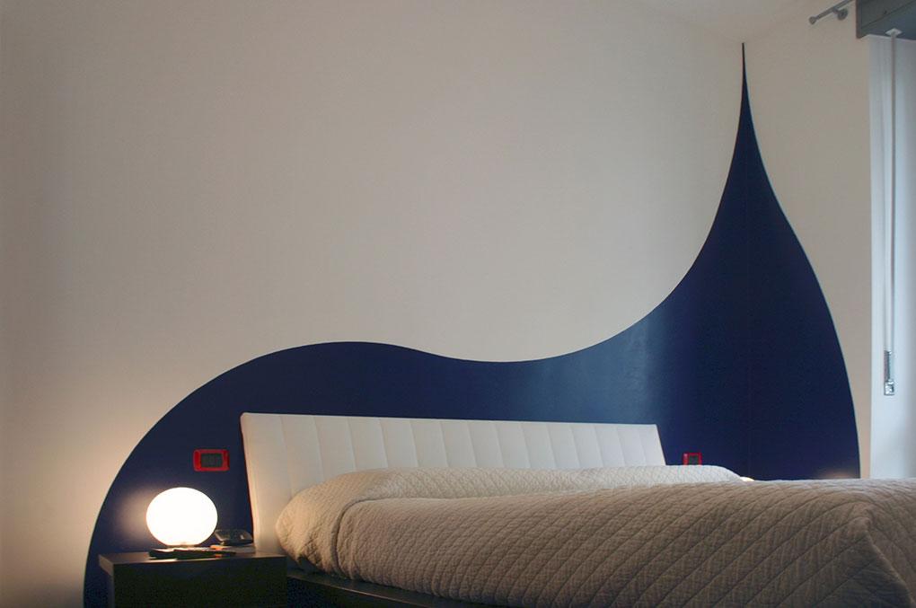 Un quadrato perfetto - Via Menzini Camera da letto matrimoniale