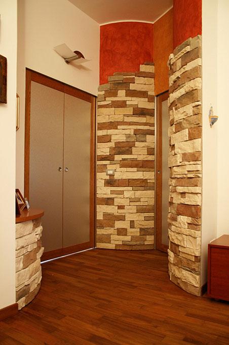 Unione di due appartamenti - Via Cavour Accesso bagno annesso camera