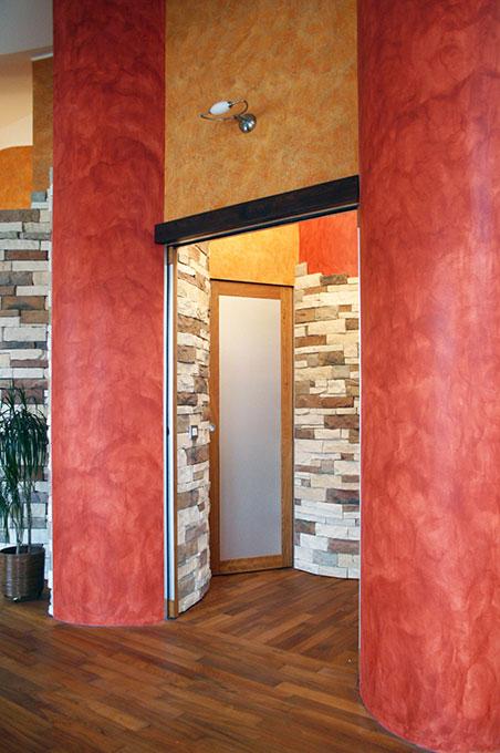 Unione di due appartamenti - Via Cavour Camera matrimoniale con bagno annesso