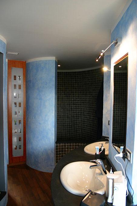 Unione di due appartamenti - Via Cavour Vasca da bagno in opera