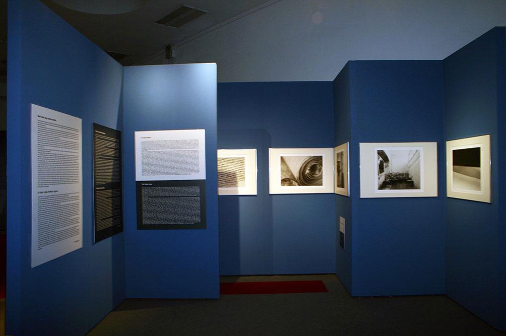 Allestimento mostre Museo della Permanente - Torah Pannelli esplicativi