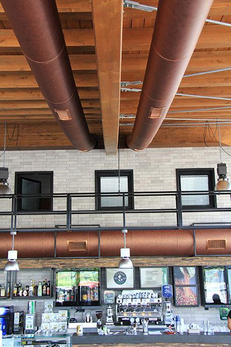 Format ristorazione - Canali ventilazione a vista