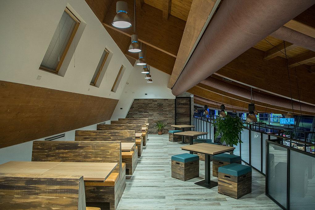 Format ristorazione - Soppalco ristorante