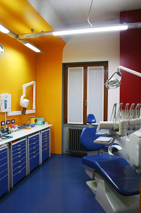 Progettazione studi dentistici - Colori sale operative