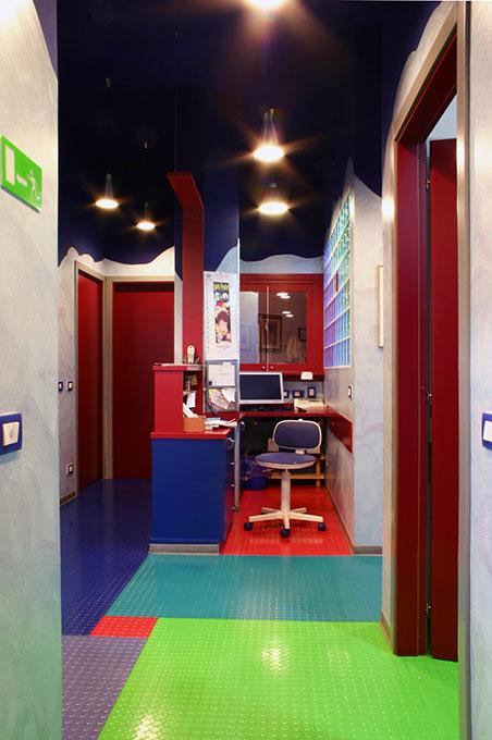 Progettazione studi dentistici - Progetto distributivo studio