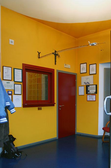 Progettazione studi dentistici - Sala di attesa con reception