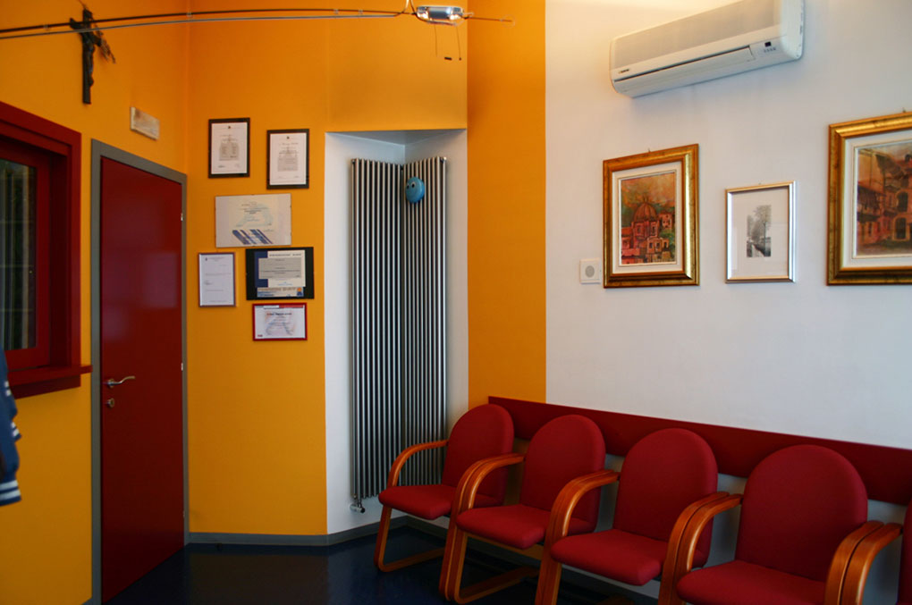 Progettazione studi dentistici - Sala di attesa