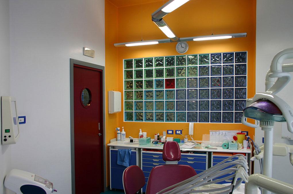 Progettazione studi dentistici - Sala riunito