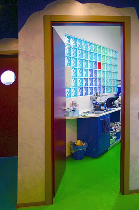 Progettazione studi dentistici - Saletta ritocchi