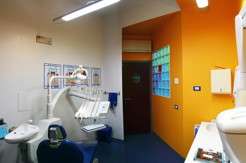 Progettazione studi dentistici - Studio riunito operativo