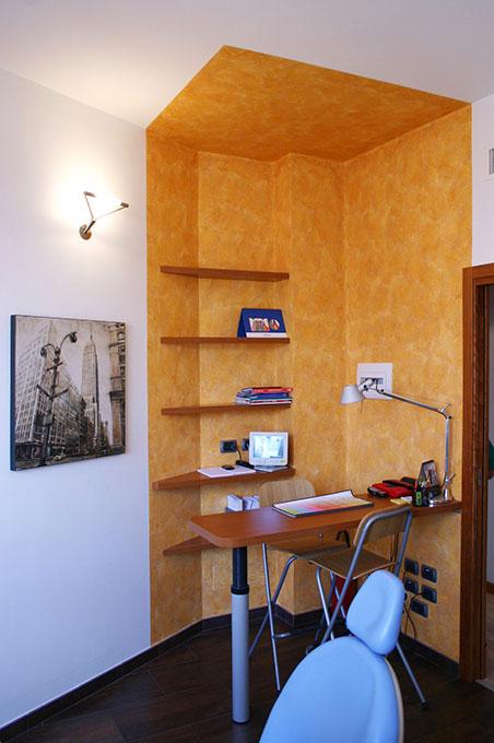 Studi dentistici via Cusani - Angolo ufficio