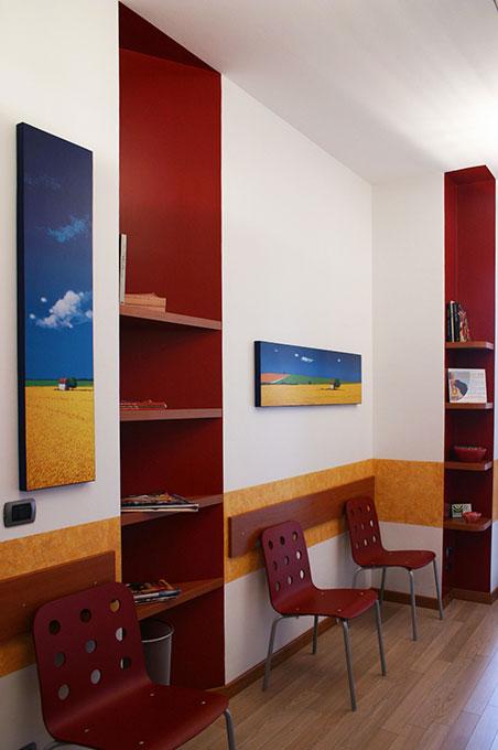 Studi dentistici via Cusani - Sala di attesa