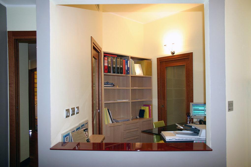 Studio dentistico via Cannobio - Reception ufficio