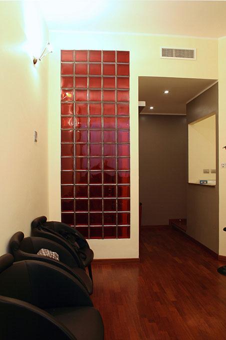 Studio dentistico via Cannobio - Sala di attesa