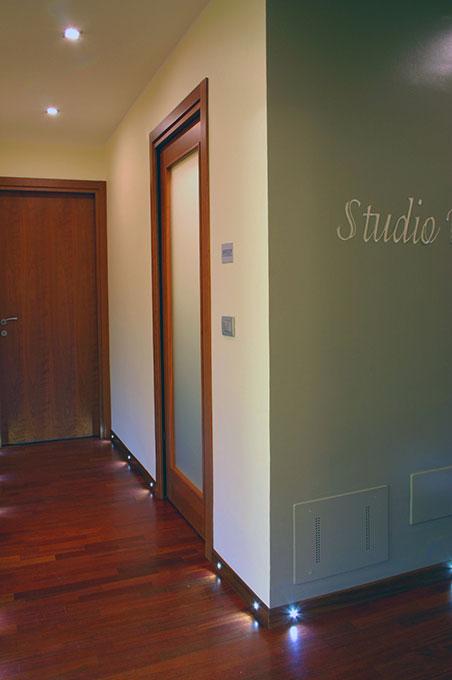 Studio dentistico via Cannobio - Spazi di disimpegno